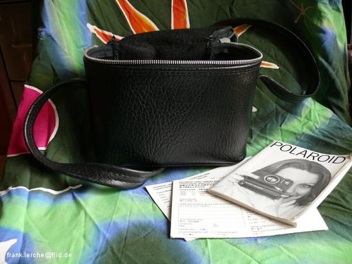 Tasche und Anleitung