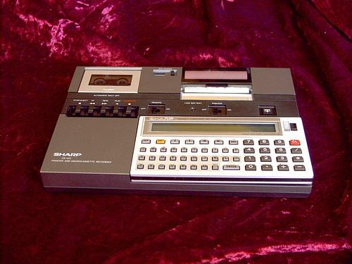 Sharp PC-1251 mit Dockingstation CE-125