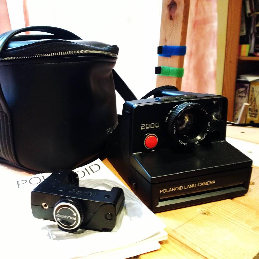 Polaroid 2000 mit Selbstauslöser