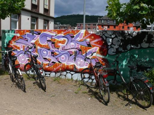 Graffiti am Trauma